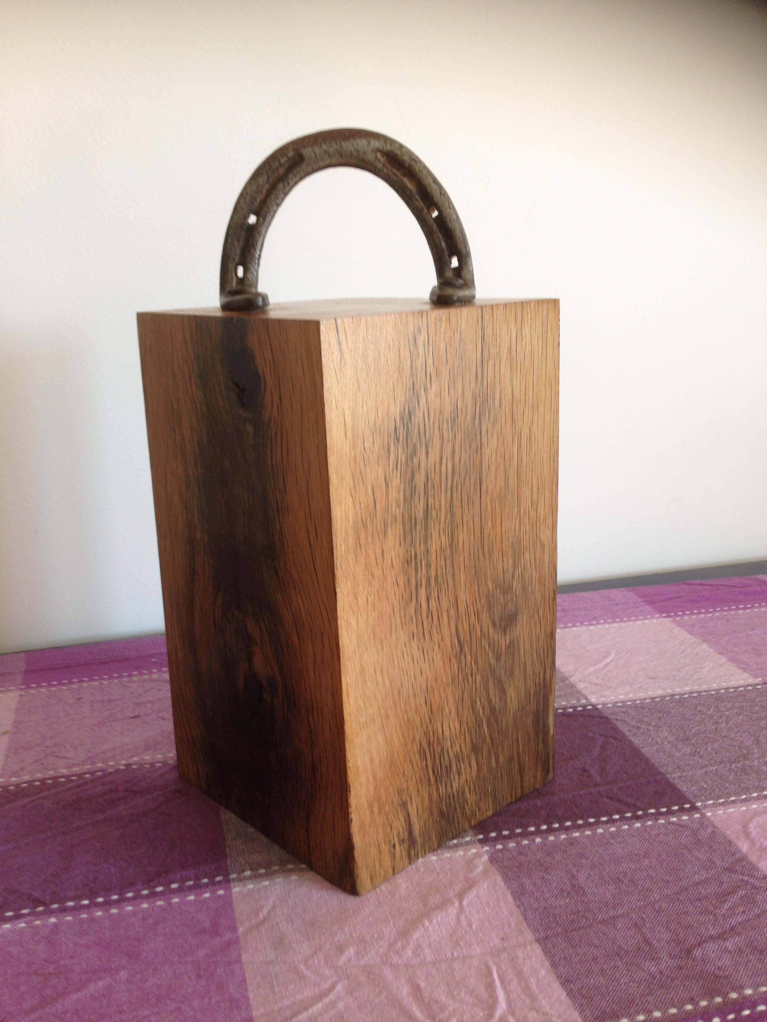 Horse Shoe Door Stop Shaker Woodwork